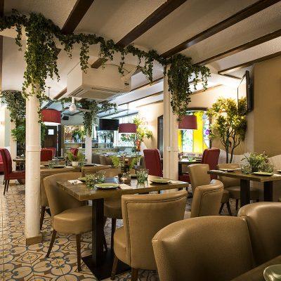 Restaurante cerca de La Boqueria con el mismo nombre