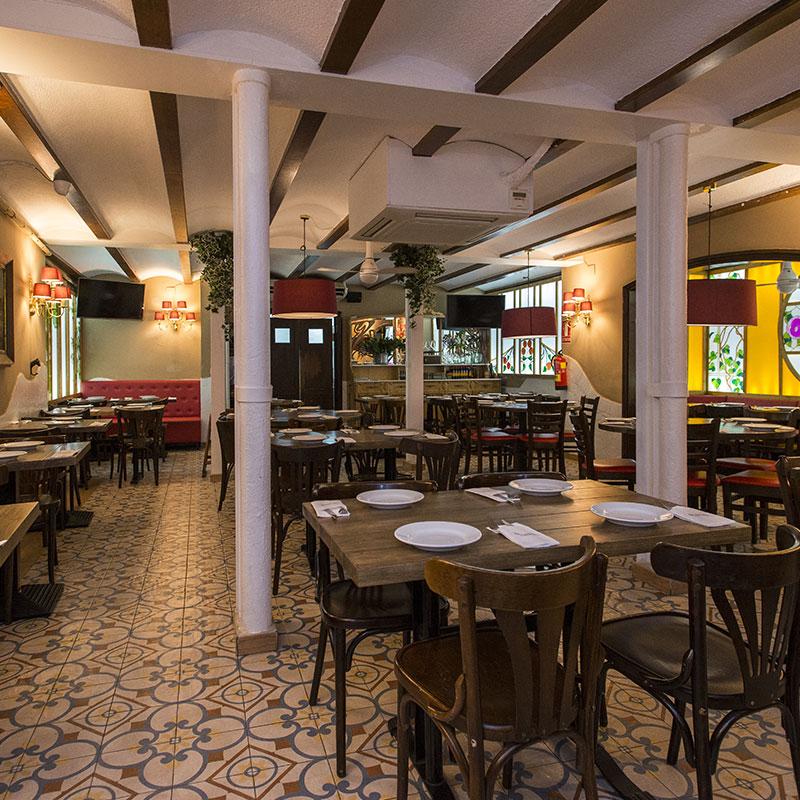 Restaurante centro de Barcelona