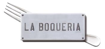 Logotipo La Boqueria Restaurante centro Barcelona